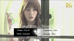 Because Of You (Vietsub) - UV , Sung Hoon (Brown Eyed Soul)