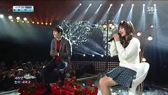 Love Falls (131215 Inkigayo) - JUNIEL , Lee Jong Hyun