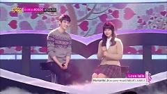 Love Falls (131214 Music Core) - JUNIEL , Lee Jong Hyun