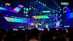 Comeback Next Week (150627 Music Core) - 4TEN , NS Yoon Ji