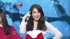 Carol Medley & White (121221 Music Bank Year-End Special) - Kang Jiyoung , Sulli , KRYSTAL , Suzy