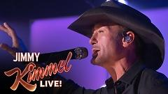 Overrated (Live On Jimmy Kimmel Live) - Tim McGraw