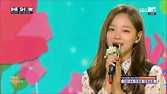 Flower Road (161206 The Show) - Sejeong ((Gugudan))