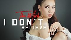 I Don't Believe (Lyric Video)