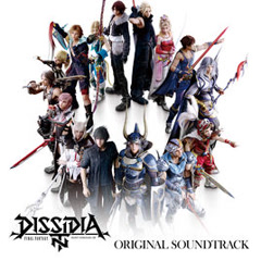 DISSIDIA FINAL FANTASY NT Original Soundtrack CD4