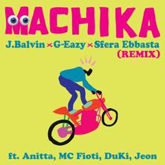 Machika (Remix) - J Balvin, G-Eazy, Sfera Ebbasta