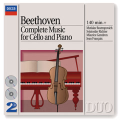 Beethoven: Complete Music for Cello and Piano