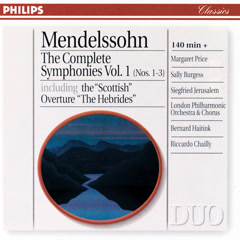 Mendelssohn: The Complete Symphonies Vol. 1
