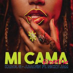 Mi Cama (Remix) - Karol G, J Balvin