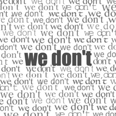 We Don't (Single) - Nieah