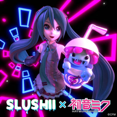 Through The Night (Single) - Slushii, Hatsune Miku