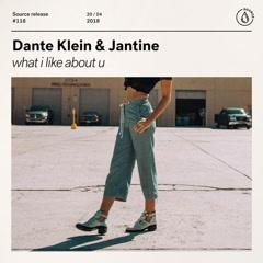 What I Like About U (Single) - Dante Klein, Jantine