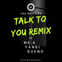 Talk To You (Remix Version) (Single)