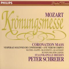 Mozart: Coronation Mass; Vesperae solennes de Confessore; Ave verum corpus