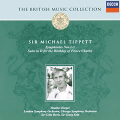 Tippett: Symphonies Nos.1-3; Suite for the Birthday of Prince Charles