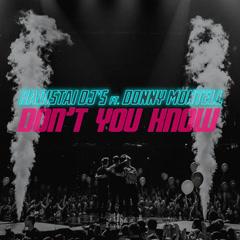 Don't You Know (Single) - Radistai Dj's