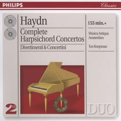 Haydn: Complete Harpsichord Concertos; Divertimenti etc.