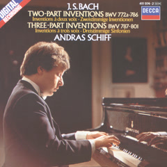 Bach, J.S.: Two and Three Part Inventions - András Schiff