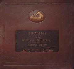 Piano Quintet In F Minor, Op. 34