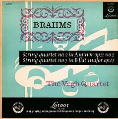 Brahms - String Quartets Nos. 2 & 3