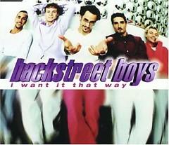 I Want It That Way (CDS)