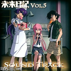 Mirai Nikki Blu-ray Vol.5 Soundtrack CD