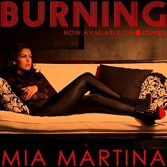 Burning (Promo CD) - Mia Martina
