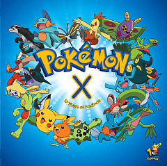 Pokemon X (10 Years Of Pokemon) - Various Artists