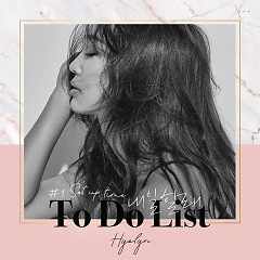 HYOLYN Set Up Time #1 To Do List (Single) - Hyorin