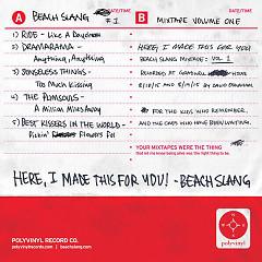 HERE, I MADE THIS FOR YOU (Beach Slang Mixtape, Vol. 1) (EP) - Beach Slang