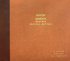 The Haydn String Quartet Society Vol V