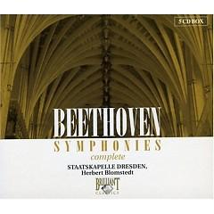 Beethoven Symphonies Disc 5 - Herbert Blomstedt,Dresden Staatskapelle Orchestra