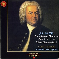 RCA Best 100 CD 4 - J.S.Bach Brandenburg Concertos - Sigiswald Kuijken