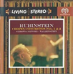 Living Stereo 60CD Collection - CD 31 -Rubinstein Chopin Concertos Nos. 1 & 2