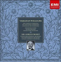Vaughan Williams - The Complete Symphonies & Orchestral Works CD 8 - Adrian Boult,London Philharmonic Orchestra,London Symphony Orchestra