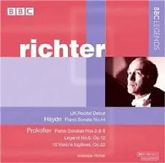 Haydn - Piano Sonata No.44 In E Flat Major; Prokofiev; Piano Sonatas Nos. 2 & 8 - Svjatoslav Richter