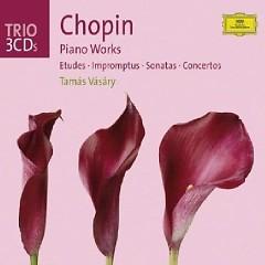 Chopin - Piano Works (Etudes, Impromptus, Sonatas, Concertos) CD 2  - Tamás Vásáry