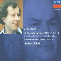 Bach - The Six French Suites CD 1 (No. 2) - Andras Schiff