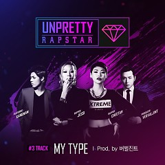 Unpretty Rapstar Track 3 - Cheetah,Kang Nam (M.I.B)