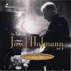 The Complete Josef Hofmann - Vol.8 - Josef Hofmann