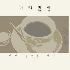 Drinking Latte Coffe