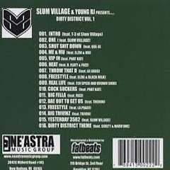 Dirty District (Instrumentals) (CD2) - Slum Village