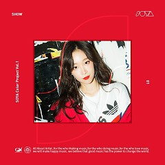 SOYA Color Project Vol.1 'SHOW' (Single) - Soya