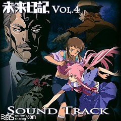 Mirai Nikki Blu-ray Vol.4 Soundtrack CD