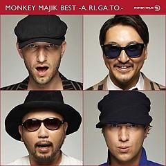 MONKEY MAJIK BEST - A.RI.GA.TO - CD3 - Monkey Majik