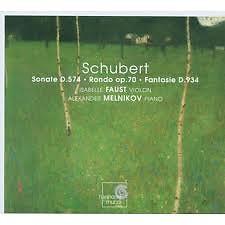 Schubert Sonate D.574,Rondo Op.70,Fantaisie D.934