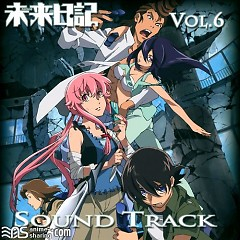 Mirai Nikki Blu-ray Vol.6 Soundtrack CD