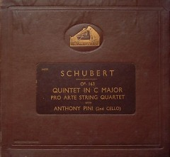 Schubert - String Quintet In C Major