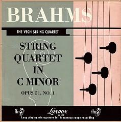 Brahms - String Quartets No. 1