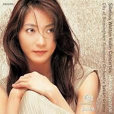 Sibelius, Walton: Violin Concertos - Akiko Suwanai